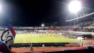 CATANIA catanzaro 3-1 finale partita CURVA NORD