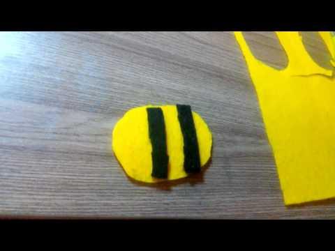 Как сшить пчелку своими руками