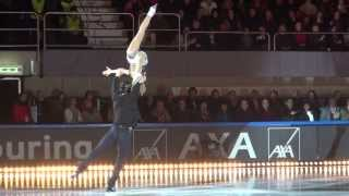 "Tatiana Volosozhar & Maxim Trankov Art on Ice 2014 ""Somebody to die for"" with Hurts"