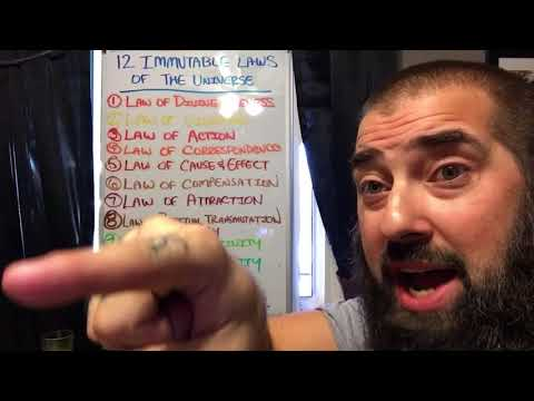 12 Immutable Laws of the Universe: Law of Perpetual Transmutation of Energy