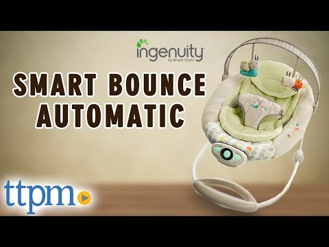 18322e20a Ingenuity SmartBounce Automatic Bouncer from Kids II Reviews [How to  Assemble and Disassemble] - YouTube