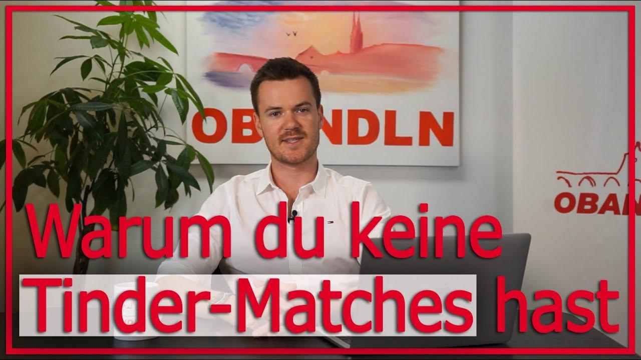 Partnersuche auf Tinder: Warum du keine Matches hast - YouTube