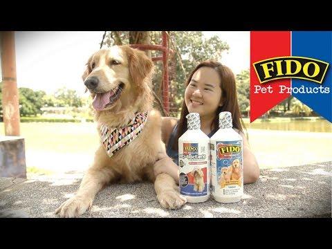 FIDO dog shampoo