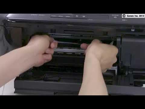 MX397 : removing paper jam inside the printer