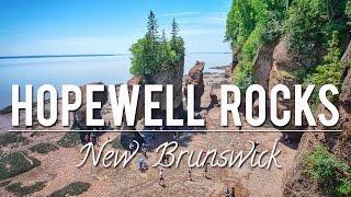 THE HOPEWELL ROCKS - NEW BRUNSWICK   CANADA