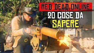 20 COSE da SAPERE SULL' ONLINE di RED DEAD REDEMPTION 2 ita! 🌐 COSE CHE NON SAI su RDR 2 ONLINE ita