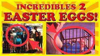 Incredibles 2 Movie - Hidden Pixar EASTER EGGS REVEALED - Toy Story 4!