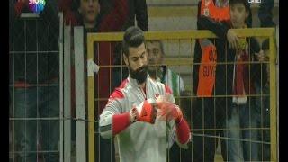 Volkan Demirel Stadı terk etti! Türkiye 3-1 Kazakistan