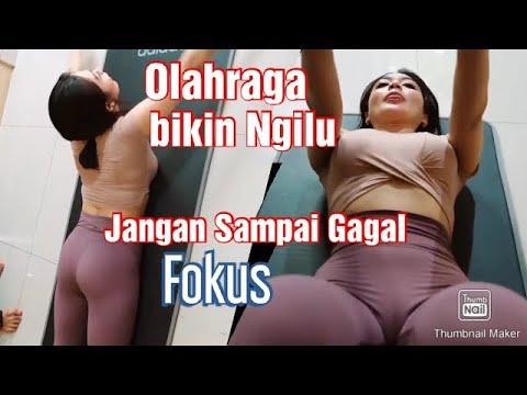 Ngintip Wika Salim Lagi Olahraga Sampai Basah - Top Play