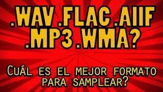 .WAV .AIIF .FLAC .MP3 .WMA Cuál es el mejor formato de audio para samplear? Especial 500 Sus