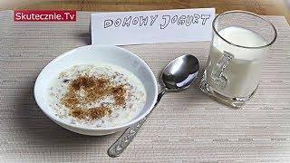 Domowy jogurt naturalny, czyli jak zrobić jogurt w domu :: Skutecznie.Tv [HD]
