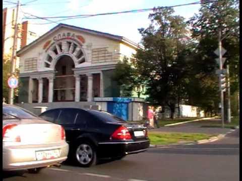 Поездка по районам ( Перово и Новогиреево)  .AVI