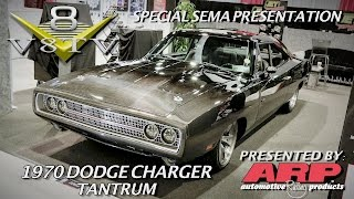 1970 Dodge Charger SpeedKore TANTRUM 9 Liter Twin Turbo SEMA 2015 Video V8TV