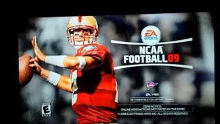 NCAA Football 2009 (PS3)