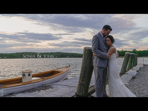 Sonia & John's Wedding Teaser Film @ Latitude 41, Mystic, CT