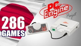 The PC Engine Project - All 286 PCE Games - Every Game (JP)