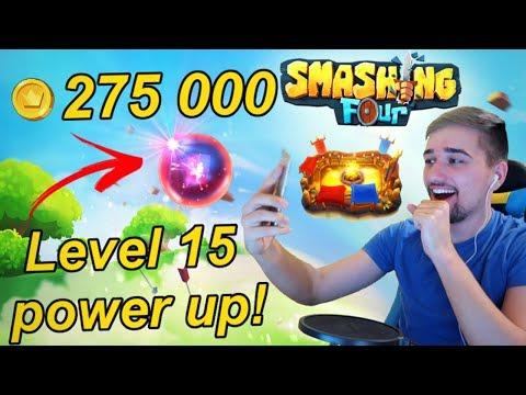 Smashing Four | NADUPANÝ DÍL!! Power up na 15 Level! | Jakub Destro