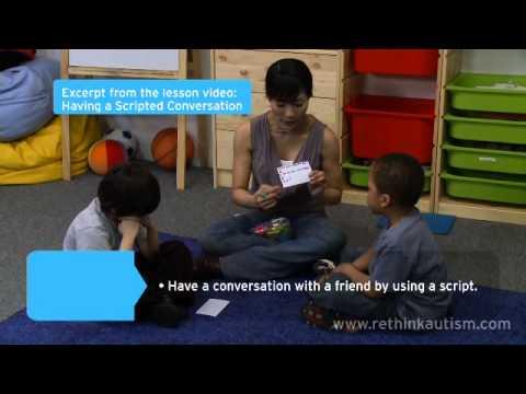 Rethink Autism Tip: The Building Blocks of Having a Conversation
