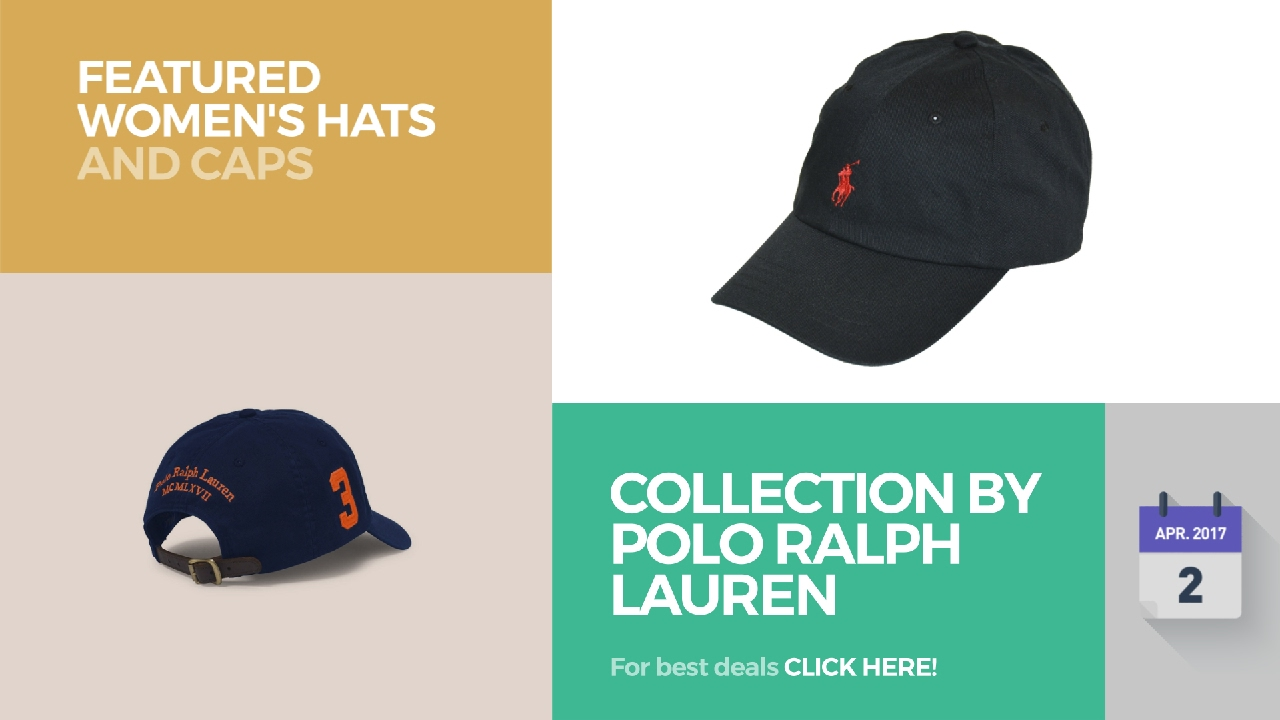 9144a683 Collection By Polo Ralph Lauren Featured Women's Hats And Caps - YouTube
