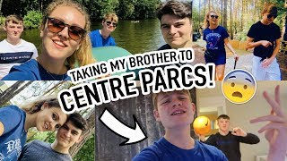 TAKING MY BROTHER TO CENTRE PARCS FOR THE END OF HIS EXAMS!!