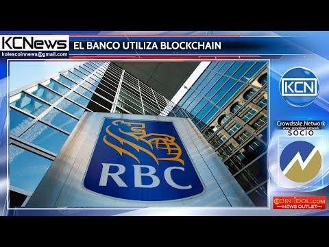 Royal Bank de Canada utiliza tecnología de blockchain para realizar pagos