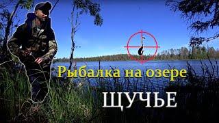 Рыбалка на озере Щучье