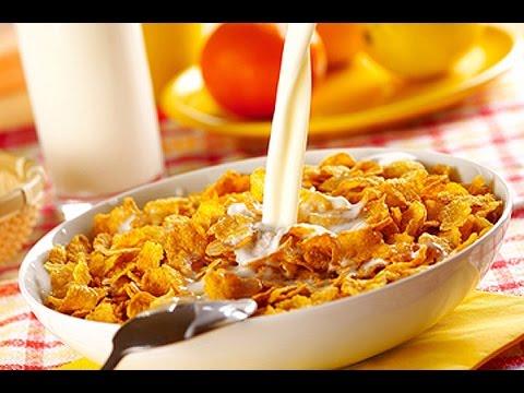 Польза хлопьев на завтрак