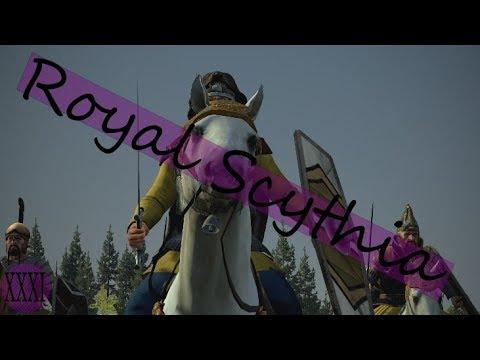 Total War Rome II Royal Scythia XXXI: The Road to Istros ...
