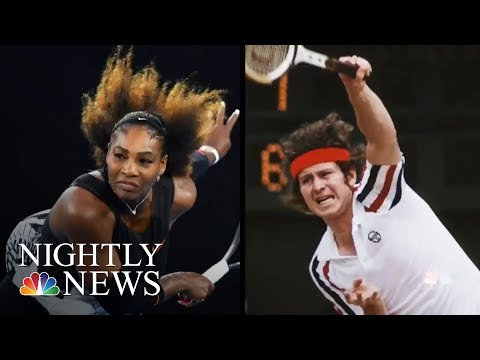 Serena Williams Responds To John McEnroe's Controversial Comments | NBC Nightly News