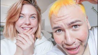 Kelly FÄRBT meine Haare