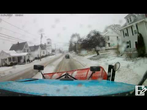 Plowing In Maine