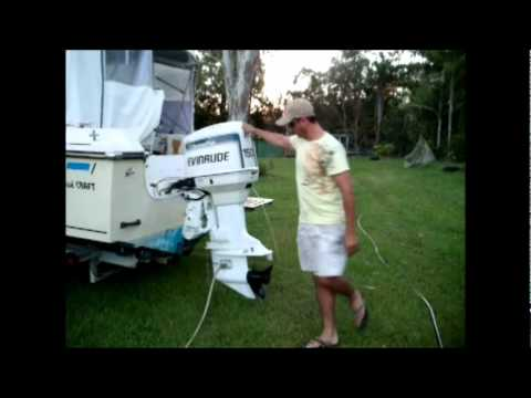 My 1998 Evinrude OceanPro 150 HP Outboard Motor