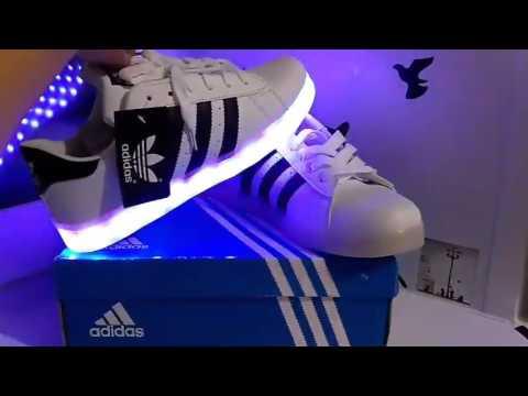 Светящиеся кроссовки с АлиЭкспресс - YouTube