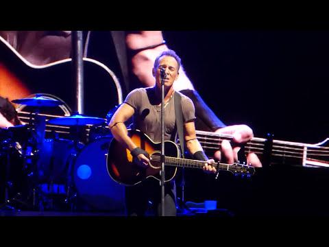 Bruce Springsteen - I Wish I Were Blind (acoustic) - Hunter Valley 23 February 2014
