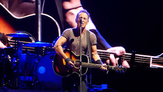 Bruce Springsteen - I Wish I Were Blind (acoustic) - Hunter Valley 23 February 2014