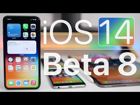 iOS 14 Beta 8 is Out! – What's New?