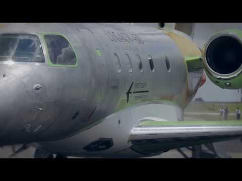 Primeiro voo Legacy 450