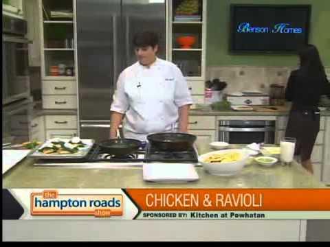 Pan Seared Chicken & Wild Mushroom Ravioli