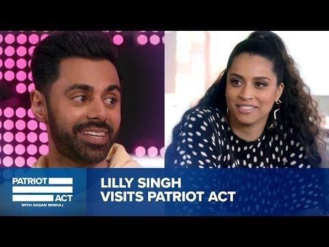 Hasan Helps Lilly Singh Get Ready For Late Night