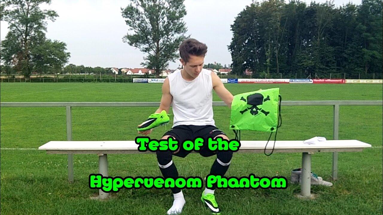 best sneakers 462df f5998 !! Testing Ibrahimovic´s Nike HYPERVENOM Phantom GREEN/BLACK   HD !!