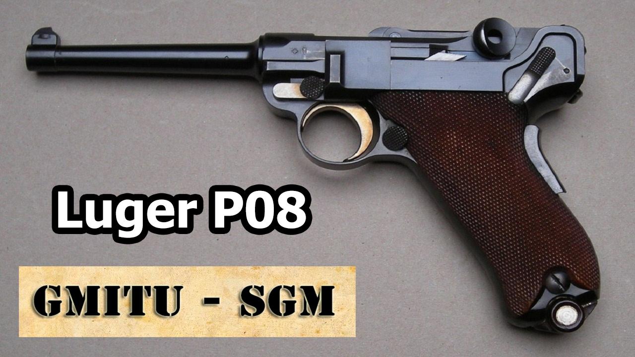 Luger P08 - La Pistola de las Guerras Mundiales - YouTube