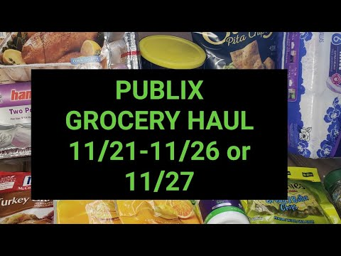 PUBLIX GROCERY HAUL|Awesome Deals|Randee Saves