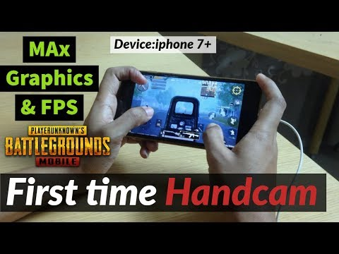 IPhone 7 Plus ! Pubg Mobile Test On IPhone 7 Plus Maxed Settings (Pubg Handcam Gameplay ) HD Ultra