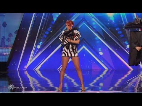 America's Got Talent-Sos & Victoria Petrosyan-Quick change artist-HD
