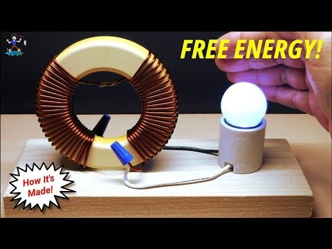 """FREE ENERGY"" Generator Magnet Coil 100% TESTED New Technology Home Generator Exposed!"