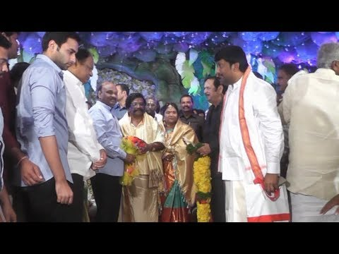 Karanam balarama son wedding gift