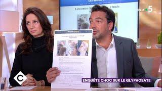 Enquête choc sur le glyphosate - C à Vous - 17/01/2019