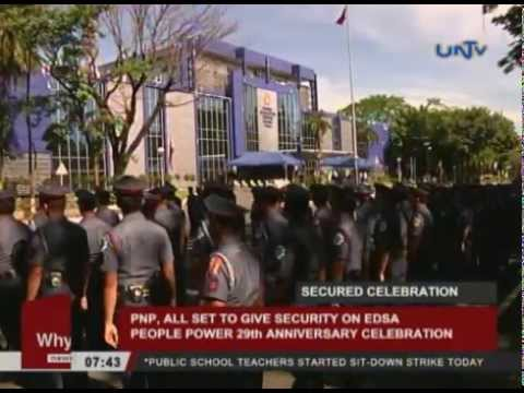PNP, all set to give security on EDSA People Power 29th anniversary celebration