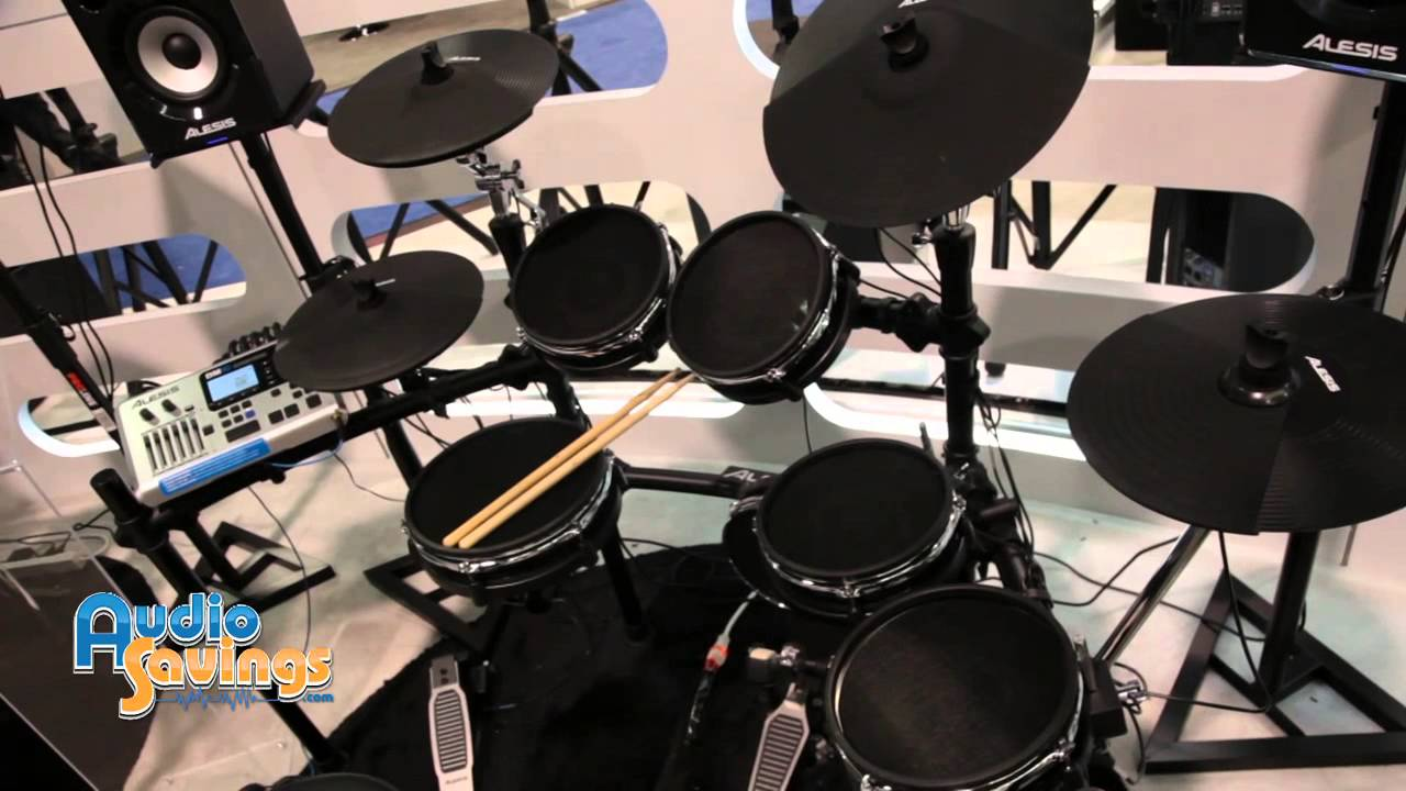 namm 2015 alesis dm10 studio dm10x mesh drum kit first look youtube. Black Bedroom Furniture Sets. Home Design Ideas