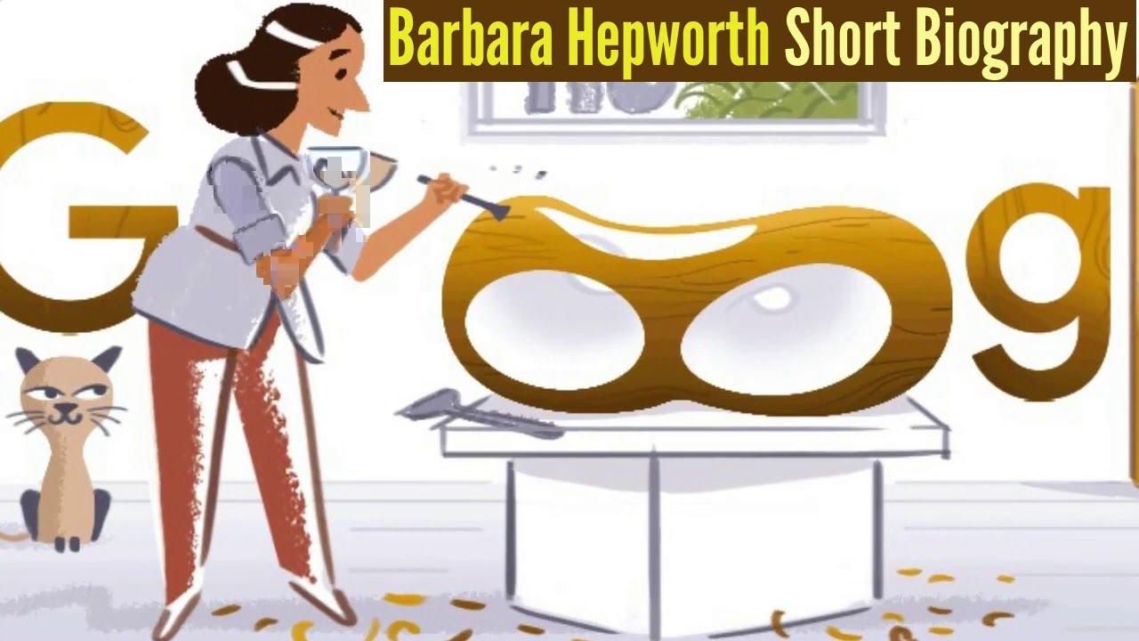 Google Doodle celebrates modernist sculptor Barbara Hepworth
